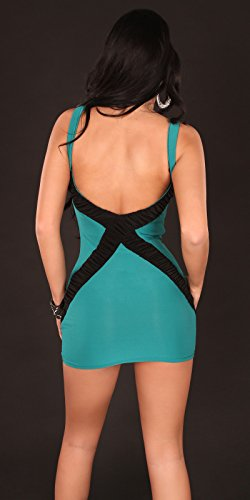 Sexy Disco Kleid mit Paillettten / Farbe: Saphir, Größe: Einheitsgröße Koucla by In-Stylefashion SKU 0000K8042103 - 3