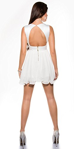 Sexy Disco Minidress in wrap-look with sequins Koucla by In-Stylefashion SKU 0000A11-27501 - 4
