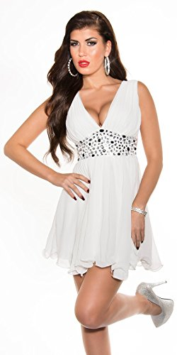 Sexy Disco Minidress in wrap-look with sequins Koucla by In-Stylefashion SKU 0000A11-27501 - 6