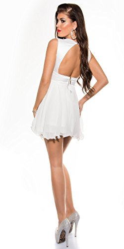 Sexy Disco Minidress in wrap-look with sequins Koucla by In-Stylefashion SKU 0000A11-27501 - 8