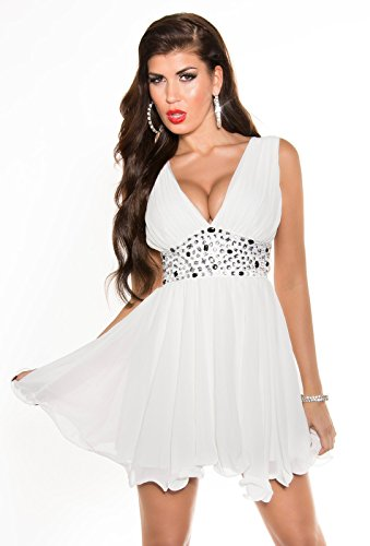 Sexy Disco Minidress in wrap-look with sequins Koucla by In-Stylefashion SKU 0000A11-27501 - 9
