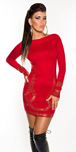 Sexy Feinstrick-Longpulli/Minikleid Kim K. Look Koucla by In-Stylefashion SKU 0000F07107 - 6