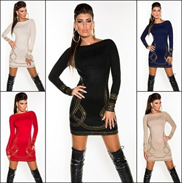 Sexy Feinstrick-Longpulli/Minikleid Kim K. Look Koucla by In-Stylefashion SKU 0000F07107 - 8