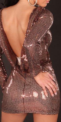 Sexy Gala-Pailletten-Kleid rückenfrei Koucla by In-Stylefashion SKU 0000K228306 - 1