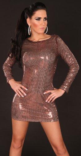 Sexy Gala-Pailletten-Kleid rückenfrei Koucla by In-Stylefashion SKU 0000K228306 - 2