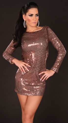 Sexy Gala-Pailletten-Kleid rückenfrei Koucla by In-Stylefashion SKU 0000K228306 - 5