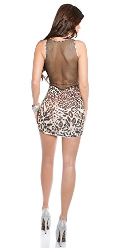 Sexy Hot KouCla Minikleid mit Netz Koucla by In-Stylefashion SKU 0000K1833401 - 4