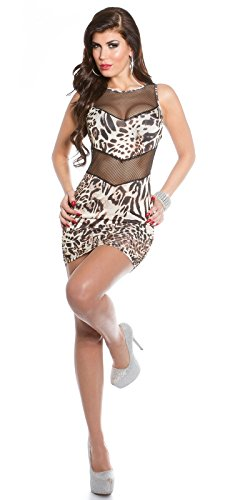 Sexy Hot KouCla Minikleid mit Netz Koucla by In-Stylefashion SKU 0000K1833401 - 6