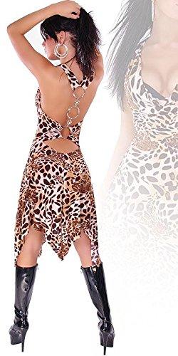 Sexy Kleid mit Ring-Schnallen am Rücken Koucla by In-Stylefashion SKU 0000K0003 - 1
