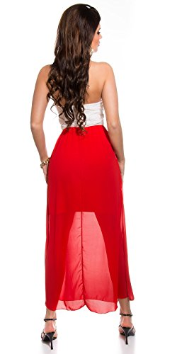 Sexy KouCla Bandeau Maxikleid mit Stickerei Koucla by In-Stylefashion SKU 0000K911707 - 6