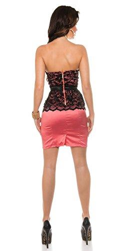 Sexy KouCla Bandeaukleid mit Spitzenschösschen Koucla by In-Stylefashion SKU 0000K1842506 - 3