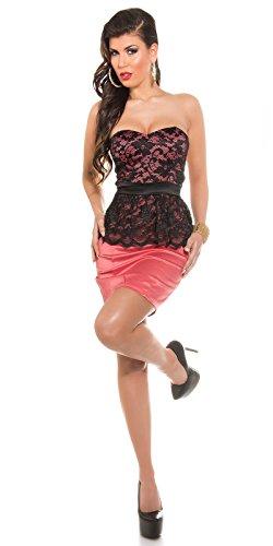 Sexy KouCla Bandeaukleid mit Spitzenschösschen Koucla by In-Stylefashion SKU 0000K1842506 - 7