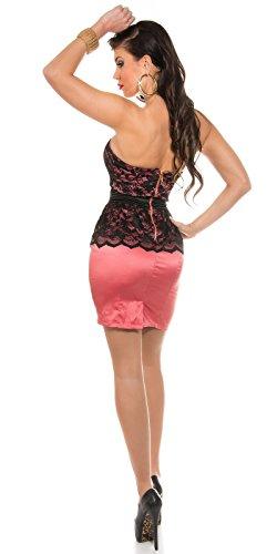 Sexy KouCla Bandeaukleid mit Spitzenschösschen Koucla by In-Stylefashion SKU 0000K1842506 - 8