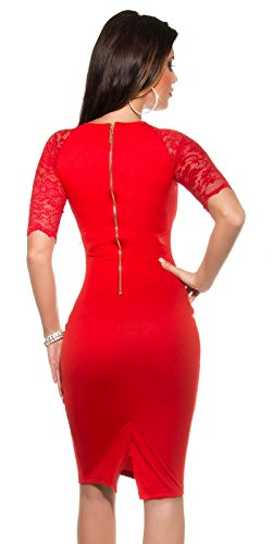 Sexy KouCla Business Kleid mit Spitze gerafft Koucla by In-Stylefashion SKU 0000K1841309 -