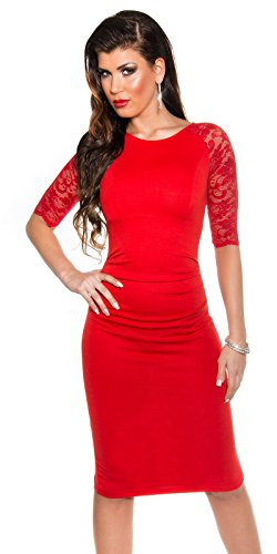 Sexy KouCla Business Kleid mit Spitze gerafft Koucla by In-Stylefashion SKU 0000K1841311 - 1