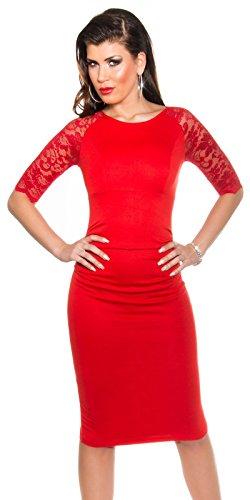 Sexy KouCla Business Kleid mit Spitze gerafft Koucla by In-Stylefashion SKU 0000K1841311 - 6