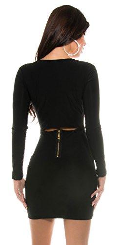 Sexy KouCla Club Minikleid mit sexy Rückeneinblick Koucla by In-Stylefashion SKU 0000K1843402 - 2