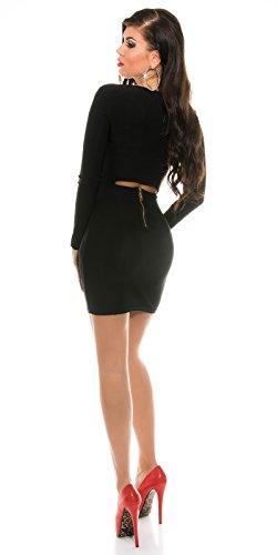Sexy KouCla Club Minikleid mit sexy Rückeneinblick Koucla by In-Stylefashion SKU 0000K1843402 - 6