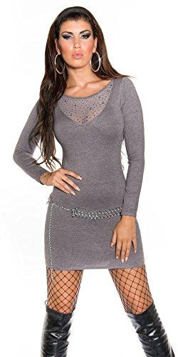 Sexy KouCla Feinstrick-Minikleid mit Nieten Koucla by In-Stylefashion SKU 0000ISF821504 - 1