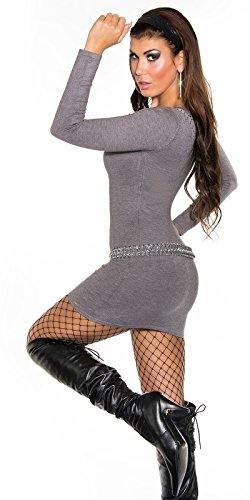 Sexy KouCla Feinstrick-Minikleid mit Nieten Koucla by In-Stylefashion SKU 0000ISF821504 - 5