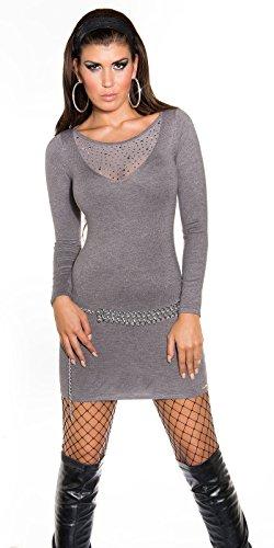 Sexy KouCla Feinstrick-Minikleid mit Nieten Koucla by In-Stylefashion SKU 0000ISF821504 - 6
