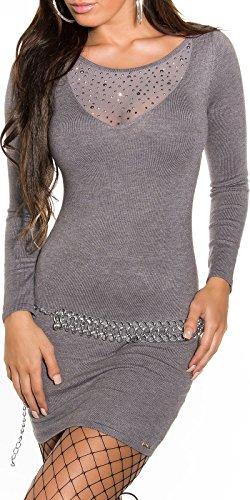 Sexy KouCla Feinstrick-Minikleid mit Nieten Koucla by In-Stylefashion SKU 0000ISF821504 - 7
