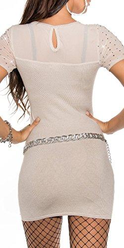 Sexy KouCla Feinstrick-Minikleid mit Nieten Koucla by In-Stylefashion SKU 0000ISF826801 - 2