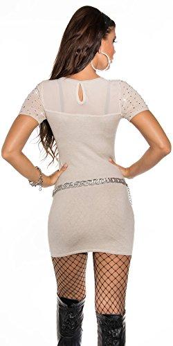 Sexy KouCla Feinstrick-Minikleid mit Nieten Koucla by In-Stylefashion SKU 0000ISF826801 - 4