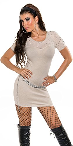 Sexy KouCla Feinstrick-Minikleid mit Nieten Koucla by In-Stylefashion SKU 0000ISF826801 - 7