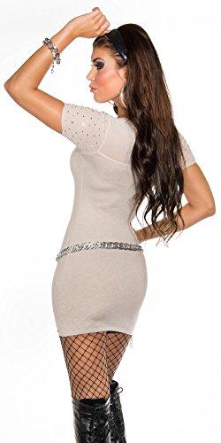 Sexy KouCla Feinstrick-Minikleid mit Nieten Koucla by In-Stylefashion SKU 0000ISF826801 - 8