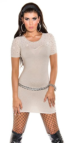 Sexy KouCla Feinstrick-Minikleid mit Nieten Koucla by In-Stylefashion SKU 0000ISF826801 - 9