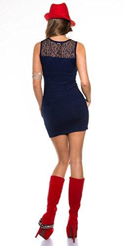 Sexy KouCla FeinStrick Minikleid mit Spitze Koucla by In-Stylefashion SKU 0000ISF821603 - 4