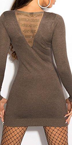 Sexy KouCla Feinstrick-Minikleid mit Strass Koucla by In-Stylefashion SKU 0000ISF800403 - 1