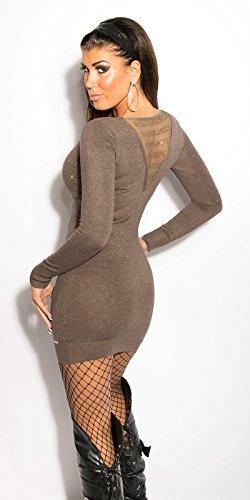 Sexy KouCla Feinstrick-Minikleid mit Strass Koucla by In-Stylefashion SKU 0000ISF800403 - 5