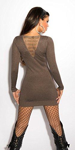 Sexy KouCla Feinstrick-Minikleid mit Strass Koucla by In-Stylefashion SKU 0000ISF800403 - 6