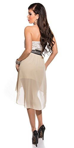 Sexy Koucla High/Lowbandeaukleid mit Nieten Koucla by In-Stylefashion SKU 0000K5136G02 - 4