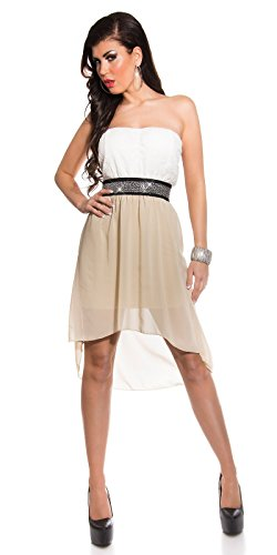 Sexy Koucla High/Lowbandeaukleid mit Nieten Koucla by In-Stylefashion SKU 0000K5136G02 - 9