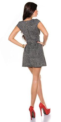 Sexy KouCla Kurzarm Minikleid mit Schleife Koucla by In-Stylefashion SKU 0000K1791102 - 6