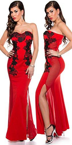 Sexy KouCla Long-Dress mit Stickerei Koucla by In-Stylefashion SKU 0000K1844902 - 1