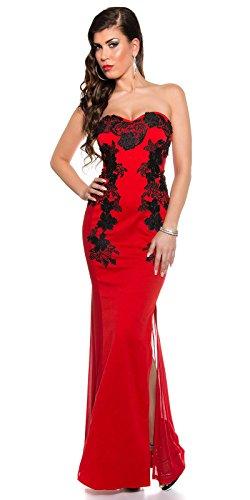 Sexy KouCla Long-Dress mit Stickerei Koucla by In-Stylefashion SKU 0000K1844902 - 4