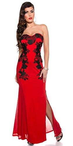 Sexy KouCla Long-Dress mit Stickerei Koucla by In-Stylefashion SKU 0000K1844902 - 5