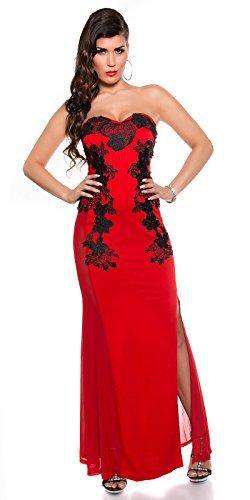 Sexy KouCla Long-Dress mit Stickerei Koucla by In-Stylefashion SKU 0000K1844902 - 7