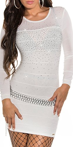 Sexy KouCla Longpulli Minikleid mit Nieten Koucla by In-Stylefashion SKU 0000ISF821406 - 1