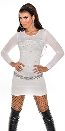 Sexy KouCla Longpulli Minikleid mit Nieten Koucla by In-Stylefashion SKU 0000ISF821406 - 4