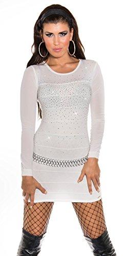 Sexy KouCla Longpulli Minikleid mit Nieten Koucla by In-Stylefashion SKU 0000ISF821406 - 6