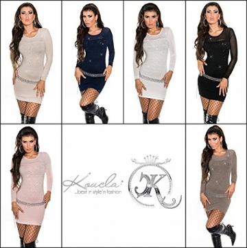 Sexy KouCla Longpulli Minikleid mit Nieten Koucla by In-Stylefashion SKU 0000ISF821406 - 9
