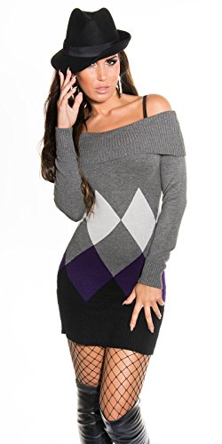 Sexy KouCla Longpulli mit Rauten-Muster Koucla by In-Stylefashion SKU 0000IN-08404 - 4
