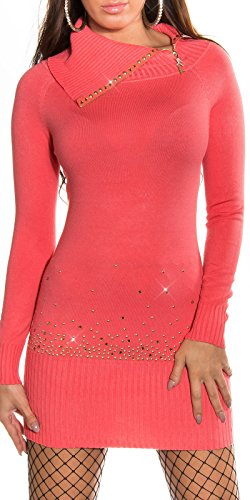 Sexy KouCla Longpulli mit Strass und Zip Koucla by In-Stylefashion SKU 0000IN-12102 - 1