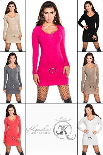 Sexy KouCla Longpulli mit Zopf-Muster Koucla by In-Stylefashion SKU 0000IN-08105 - 9