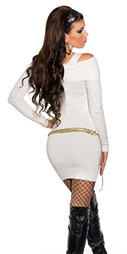 Sexy KouCla Longpullover mit Strass und Zip Koucla by In-Stylefashion SKU 0000ISF827806 - 2